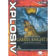 Gabriel Knight 3 Pc Cd-rom Juego Nuevo Y Sellado Uk!