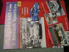 * Fascicule Alpine & Renault Sportives n°13 Alpine A 110 CROMBAC Reanault-Willia