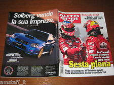 AUTOSPRINT 2004/22=GP F1 D'EUROPA=MICHAEL SCHUMACHER=TEST VOLVO S40 D=
