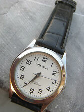 Milona suisse bauches exception mixed, beautiful presentation with croc strap