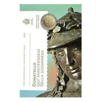2 Euro Gedenkmünze/Sondermünze San Marino 2016 Donatello