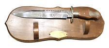 Vintage Antique Large W.Rogers Sheffield England Presentation Dagger Knife Stand