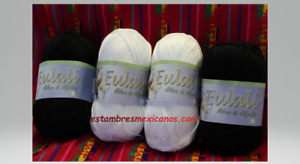 Omega EULALI HILAZA bola de 100grs, Cotton Thread Yarn Various Colors Available