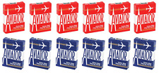 More details for 12 decks of bicycle aviator standard poker casino playing cards 6 red & 6 blue
