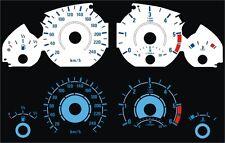 BMW e46 3er Diesel plasma compteur de vitesse compteur de vitesse vitre Digital