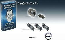 TRANSGO E4OD 4R100 E4-VL-LR3 Accumulator valves 3PC kit E4 4R1 Ford 36741EAKT