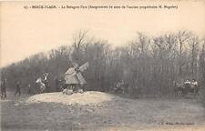 CPA 62 BERCK PLAGE LE REINGAM PARC  (petit moulin a vent
