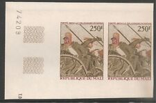 Mali #C212 (AP87) VF MNH Color Trial Proof Imperf Pair - 1974 250fr Alexander