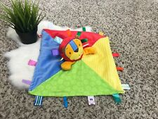 Taggies Baby Boy Security Blanket Blanket Multi-Color 13x14