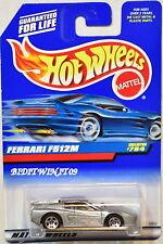 HOT WHEELS 1998 FERRARI F512M #784 SILVER