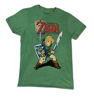 Nintendo Zelda Link to the Past Nes Men's T-Shirt Size Small Rare HTF preowned