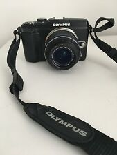 Olympus PEN E-PL2 12.3MP Digital Camera - Black (Kit w/ 14mm-42mm Lens)