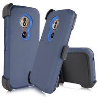 For Motorola Moto G7 Power / Supra  Case Belt Clip Fit Otterbox+Screen Protector