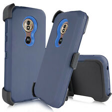 For Motorola Moto G7 Power /Supra  Case Belt Clip Fits Otterbox+Screen Protector