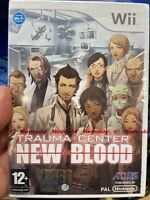 Trauma Center New Blood Nuovo sigillato Wii Italiano Non Sarai MSI Un Chirurgo