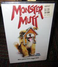 MONSTER MUTT DVD MOVIE, BART JOHNSON, RHIANNON WRYN, COMEDY & CHAOS, NEW