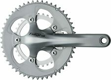Shimano Tiagra FC-4650 50 / 34 Tooth Compact Chainset - 175mm - Silver