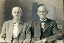 1932 Kansas Men W Lyman W Stone Over Age 90 Auto Drivers' Club Press Photo