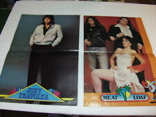 Monty gum Pop Posters 1978 Suzi Quatro Meatloaf Patricia Paay Joey Travolta