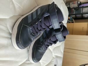 adidas high tops basketball trainers size 4.5 boys girls adults unisex