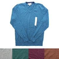 GoodFellow & Co. Men's Cotton Blend V Neck Long Sleeve Shirt Sweater Top
