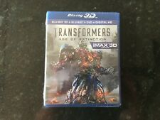 Transformers Age Of Distinction Blue Ray 3d + Blue Ray + Dvd