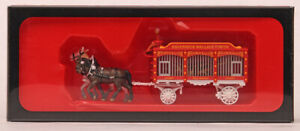 1/87 Preiser Great Circus Train Tiger in Cage Hagenbeck-Wallace Circus  #22153