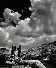 1937/63 Vintage EDWARD WESTON Photography Tenaya Lake Yosemite 8x10 ANSEL ADAMS