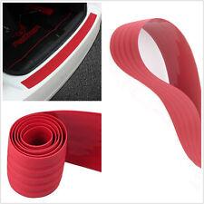 Trunk Guard Plate Bumper Sill/Protector Plate Rubber Cover Guard Trim PAD Red