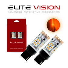 Elite Vision 7440 Amber Led Turn Signal Light Bulbs Kit for Scion 2600LM 3000k