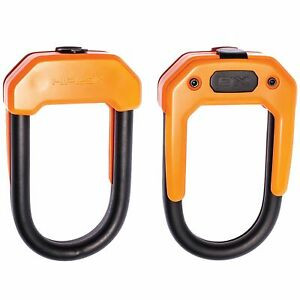 Hiplok Easy Carry DX D Bike Cycle Cycling Anti Theft Security Lock - Orange