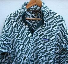 Vintage 1990's Patagonia Men's Aztec Tribal Snap-T Pullover Fleece Jacket S