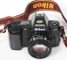 Nikon n8008 camera 35mm film & Nikon 50mm f1.8 AF lens Nikkor