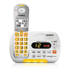 Uniden D3097 Cordless Phone with Voicemail LED Indicator and Headset Jack