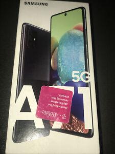 Samsung Galaxy A71 5G SM-A716U - 128GB - Prism Cube Black (Unlocked) (Single...
