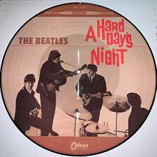 BEATLES, A HARD DAYS NIGHT, 180G PICTURE DISC VINYL LP, JAPANESE VERSION