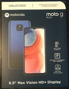 Motorola Moto G Play 32Gb 2021 Factory Unlocked Misty Blue MC36E  - AS-IS