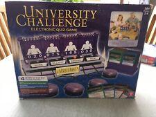 university challenge ELECTRONIC QUIZ GAME