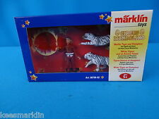 Marklin 00790-02 White Tigers & Animal Tamer   CIRCUS MONDOLINO