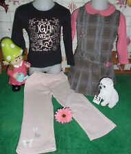 vêtements occasion fille 2 ans,robe MEXX,sweat,pantalon REEBOK,sweat BENETTON