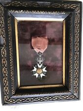 CADRE MEDAILLE ANCIEN LÉGION D'HONNEUR NAPOLEON FRENCH MEDALS MILITARY