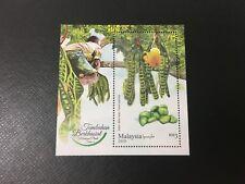 (JC) Malaysia Medicinal Plants (Series 4) 2018 - MNH Miniature Sheet (MS) STAMP