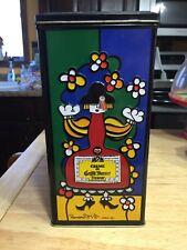 Vintage 1990 Creme De Grand Marnier Liqueur Romero Britto Design Tin