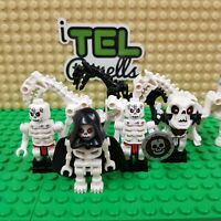Lego Skeleton Minifigure & Skeleton Horse Bundle - Ninjago Genuine Mini Figures