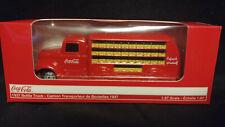 Coca Cola 1937 Bottle Truck 1:87 Scale Motor City Classics 2009