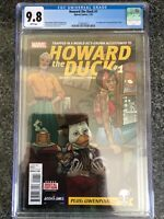 Howard the Duck 1 CGC 9.8 White Pages (1st app of Gwenpool)