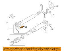 NISSAN OEM 16-18 Titan XD Rear Suspension-Drive Shaft Front Bolt 371207S00A
