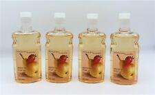 x4 Bath & Body Works Classic Pearberry Pleasures Shower Gel Body Wash Full Size