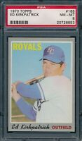 1970 Topps Set Break # 165 Ed Kirkpatrick PSA 8 *OBGcards*