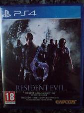 Resident Evil 6 HD PS4 Nuevo Acción shooter zombies en castellano in english.